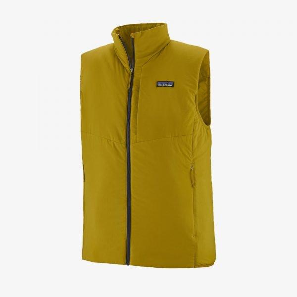 Patagonia Men's Nano-Air Vest textile green smanicato uomo ragazzo sci alpinismo
