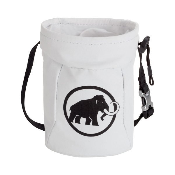 Mammut Realize Chalk Bag sacchetto porta magnesite bianco