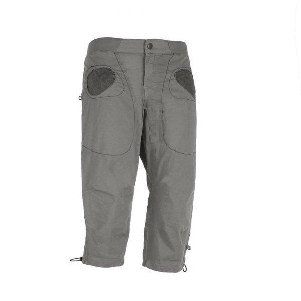 Enove pantaloni corti uomo R3 pantaloni 3/4 pinocchietto grigi