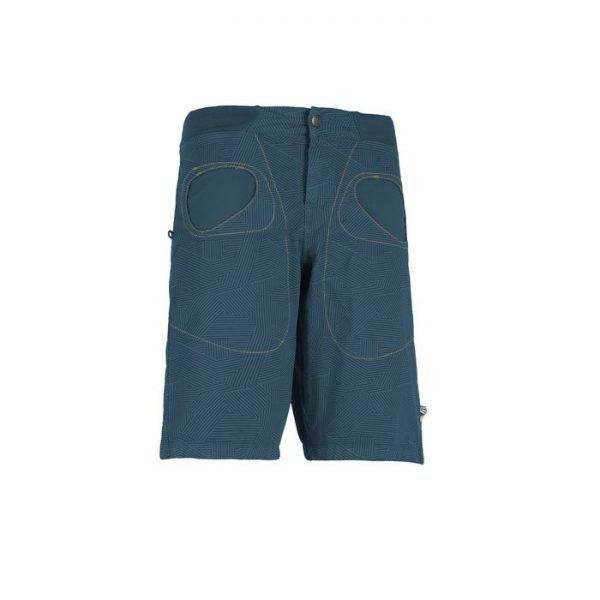 Bermuda uomo E9 Rondo Short blu pantalone corto ragazzo uomo