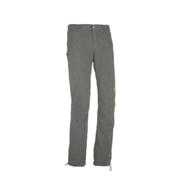Enove Pantalone donna in lino Mara arrampicata grigio
