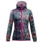 Crazy Idea Jkt Woodstock Light Woman giacca anti vento pioggia donna peace & love