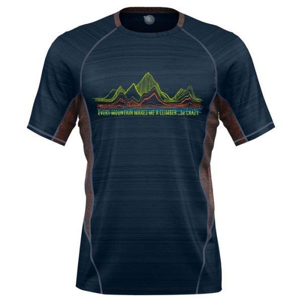 Crazy Idea T-Shirt Pegasus Man maglietta uomo trekking corsa