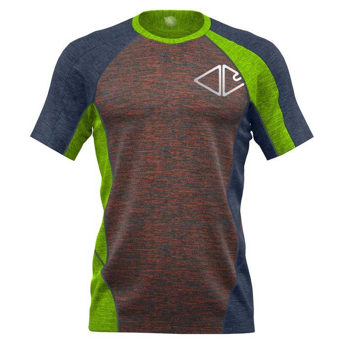 Crazy Idea T-Shirt Resolution Man maglietta tecnica uomo trekking corsa