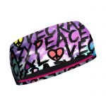 Crazy Idea Band Crazy Double fascia femminile donna peace & love
