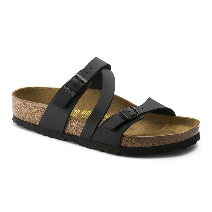 Birkenstock sandalo donna Salina nero