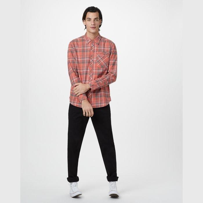 Tentree Men's Benson Hemp Button Up camicia uomo in canapa