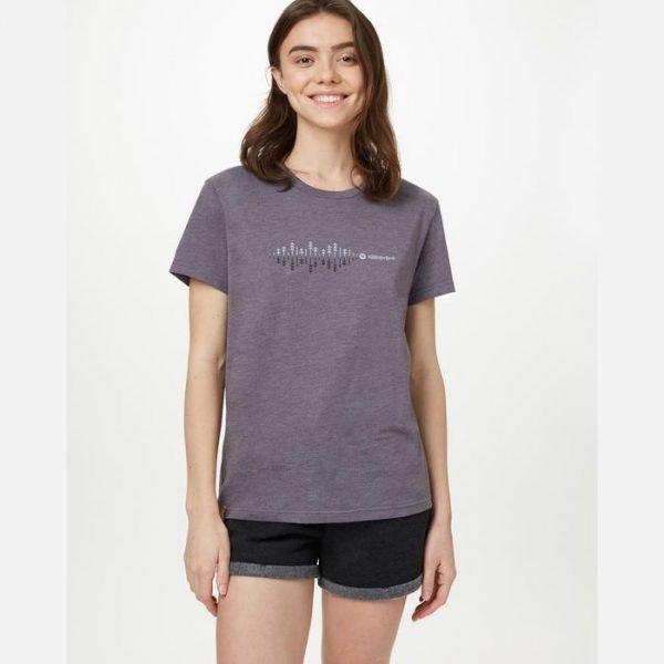 Tentree W Soundwave BF T-Shirt maglietta donna