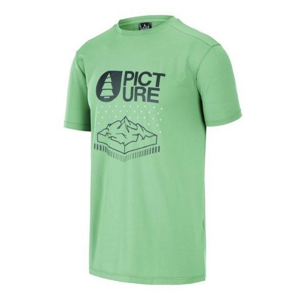 Picture Organic Travis Tech Tee maglietta tecnica uomo verde