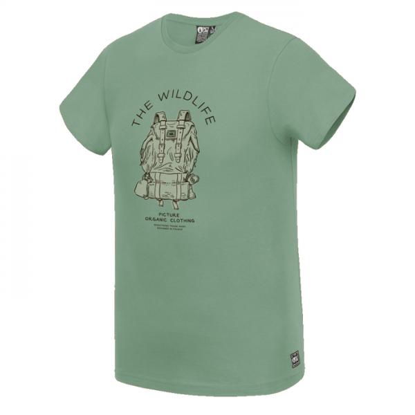 Picture Organic Packer Tee maglietta t-shirt ragazzo zaino iaggiatore