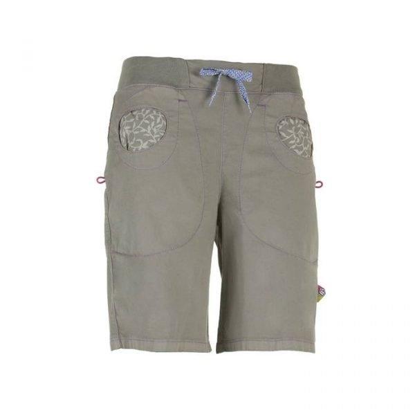 Enove N Mix Short donna pantaloni corti ragazza grigi arrampicata