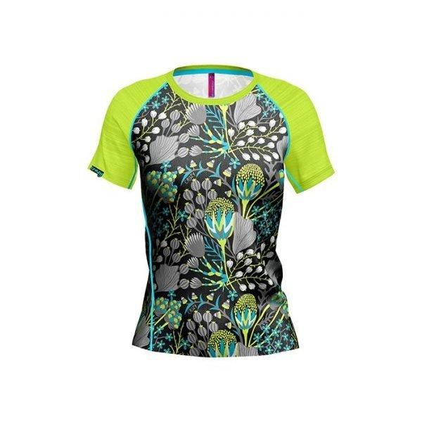 Crazy Idea T-shirt Exit Woman maglietta femminile donna ragazza trekking