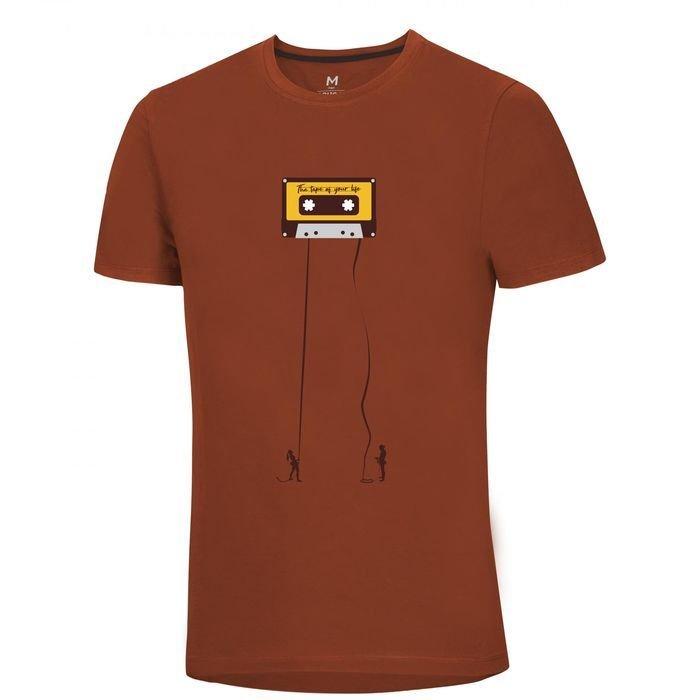 Ocun Classic T Men maglietta uomo arrampicatore musicassetta mattone