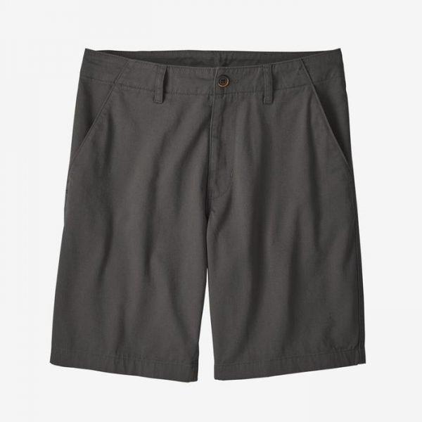 Patagonia Men's Four Canyon Twill pantalone corto uomo da lavoro e tempo libero grigio scuro