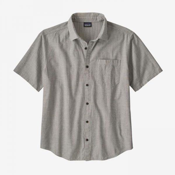 Patagonia Men's Organic Cotton Slub Poplin Shirt camiciotto estivo maschile