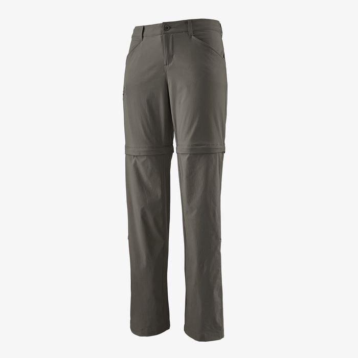 Patagonia Women's Quandary Convertible Pants - Regular forge grey