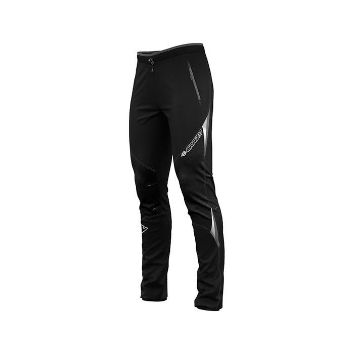 Crazy Idea Pant Viper Man pantaloni sci alpinismo uomo invernali neri