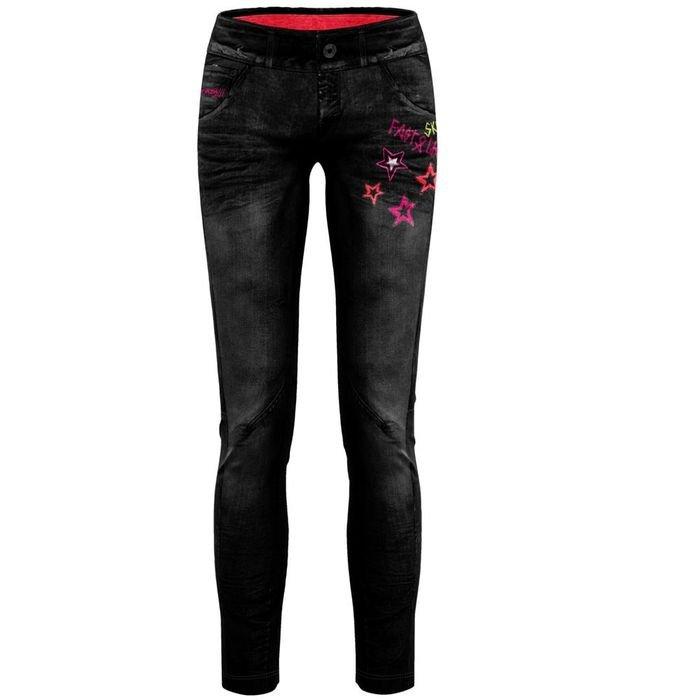 Crazy Idea Pant Wonder Magic Woman pantalone donna ragazza elasticizzato jeans da trekking