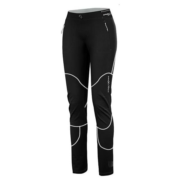 Crazy Idea Pant Cervino Woman pantalone sci alpinismo donna nero e bianco