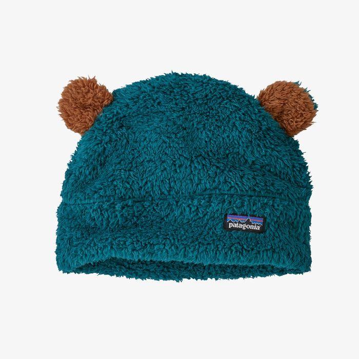 Patagonia Baby Furry Friends Hat berrettino bimbo invernale orsetto