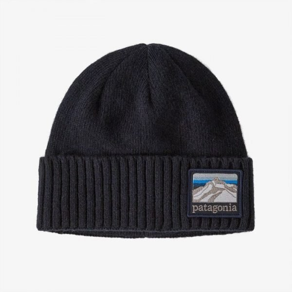 Patagonia Brodeo Beanie cappellino invernale blu patch patagonia
