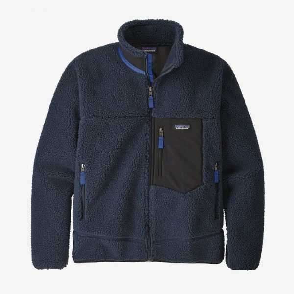 Patagonia Men's Classic Retro-X Fleece Jacket pile anti vento caldo blu uomo