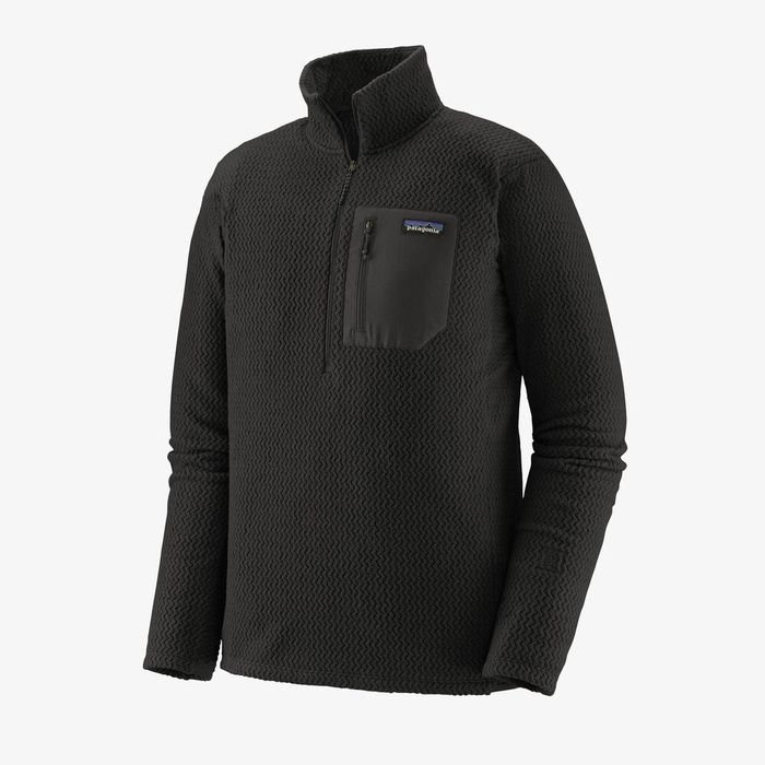 Patagonia Men's R1 Air Zip-Neck nero