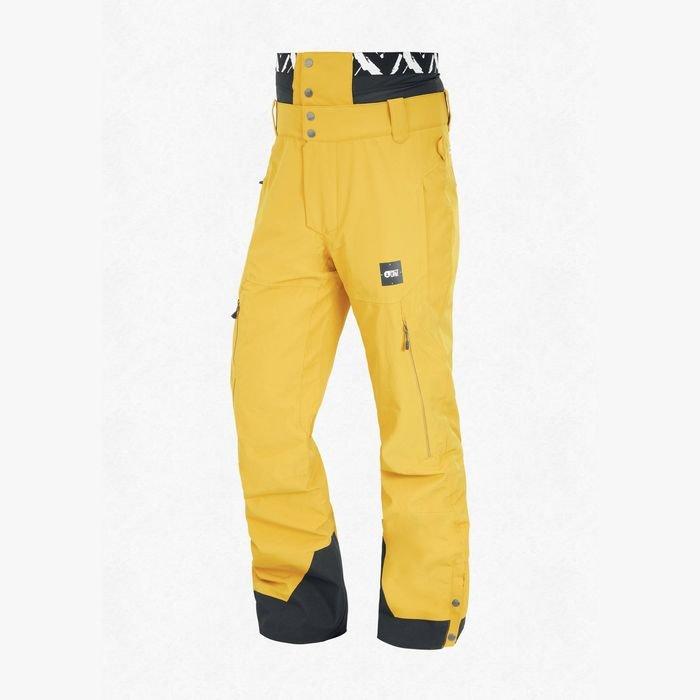 Picture Object Pant Men pantaloni neve sci snowboard gialli uomo ragazzo