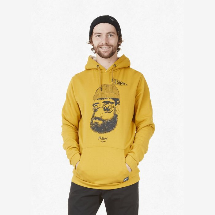 Picture Pinecliff Plush Hoodie safran