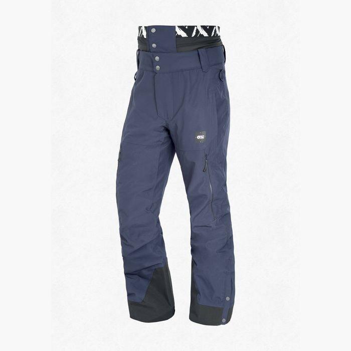 Picture Object Pant Men pantaloni snowboard neve sci blu