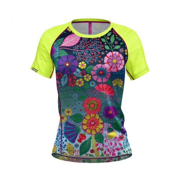 Crazy Idea T-shirt Exit Woman maglietta tecnica trekking donna