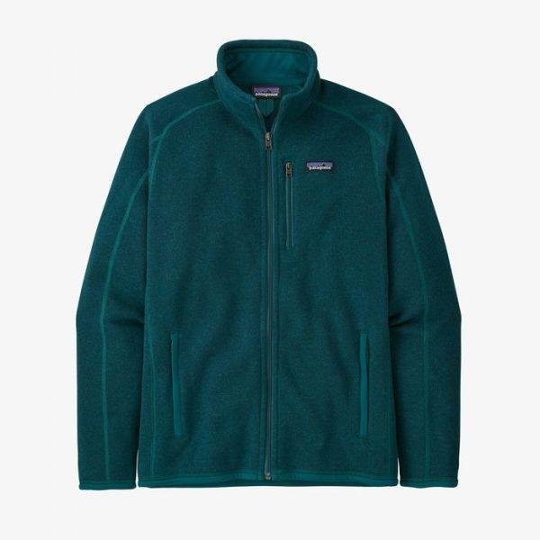 Patagonia Pile uomo Men's Better Sweater Jacket dark borealis pile verde da uomo