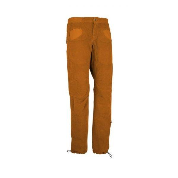 E9 Pantalone uomo Rondo Vs2 velluto arancione