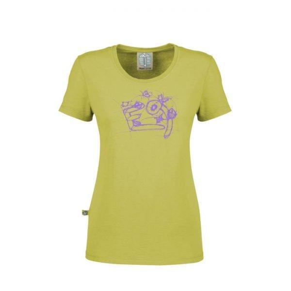 E9 Enove T-shirt donna Lola maglietta verde