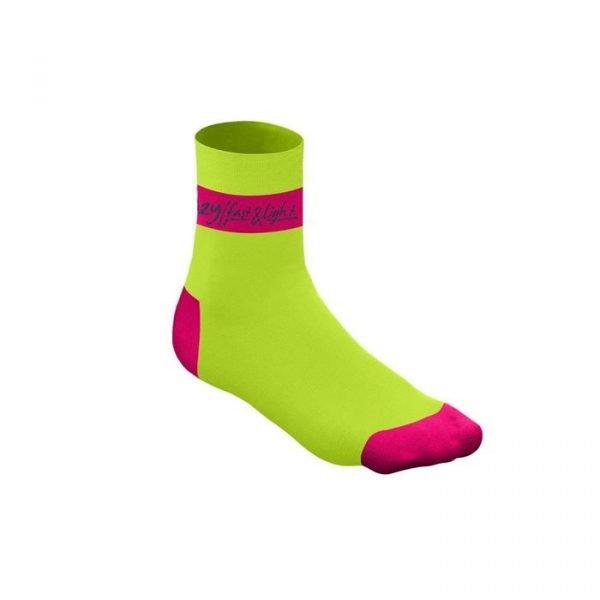 Crazy Idea Crazy Carbon Socks calze tecniche donna ragazza