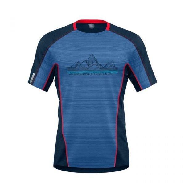 Crazy Idea T-Shirt Acceleration Man maglietta tecnica uomo trekking corsa