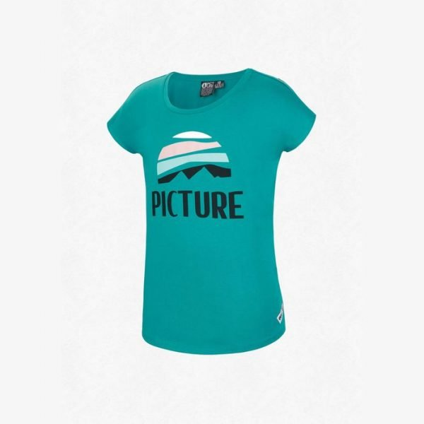 Picture Organic Clothing Keydy Tee t-shirt maglietta ragazza bambina montagne