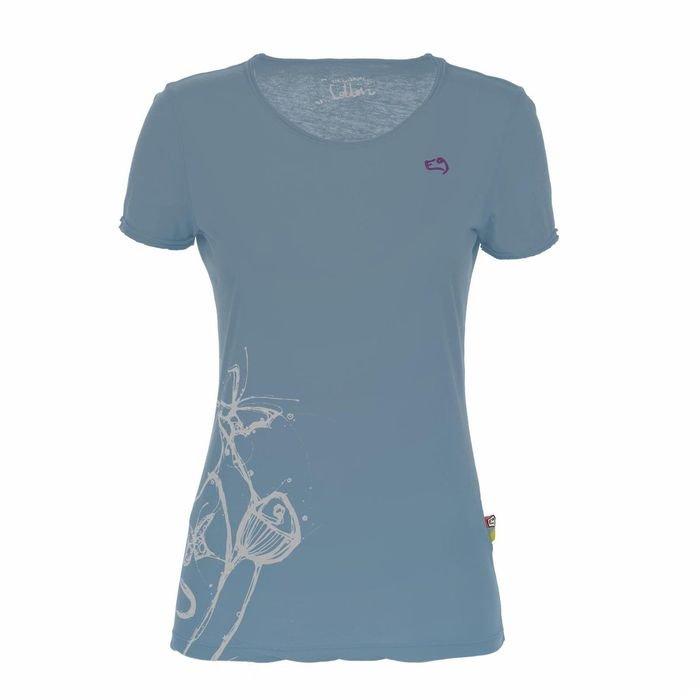 E9 clothing t-shirt Reve maglietta ragazza arrampicata