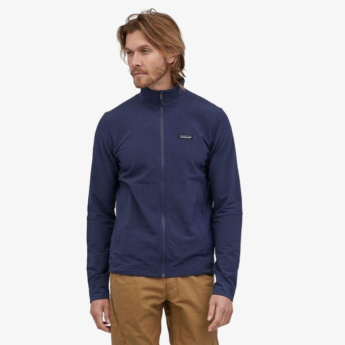 Patagonia Men's R1® TechFace Jacket pile soft shell maschile uomo ragazzo