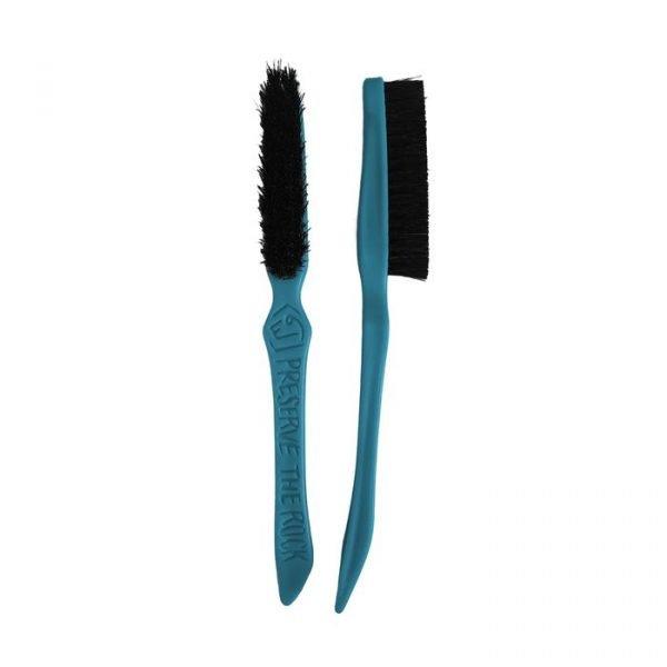 E9 Lilbrush spazzolino arrampicata blu azzurro