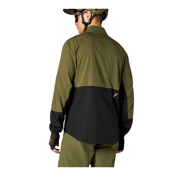 Fox Giacca Ranger Wind verde nera