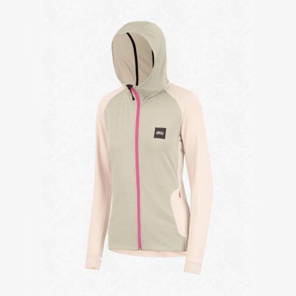Picture Organic Celest Zip tech hoodie pile leggero donna ragazza