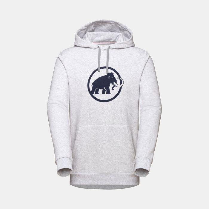 Mammut felpa Logo Hoodie uomo grigio chiaro