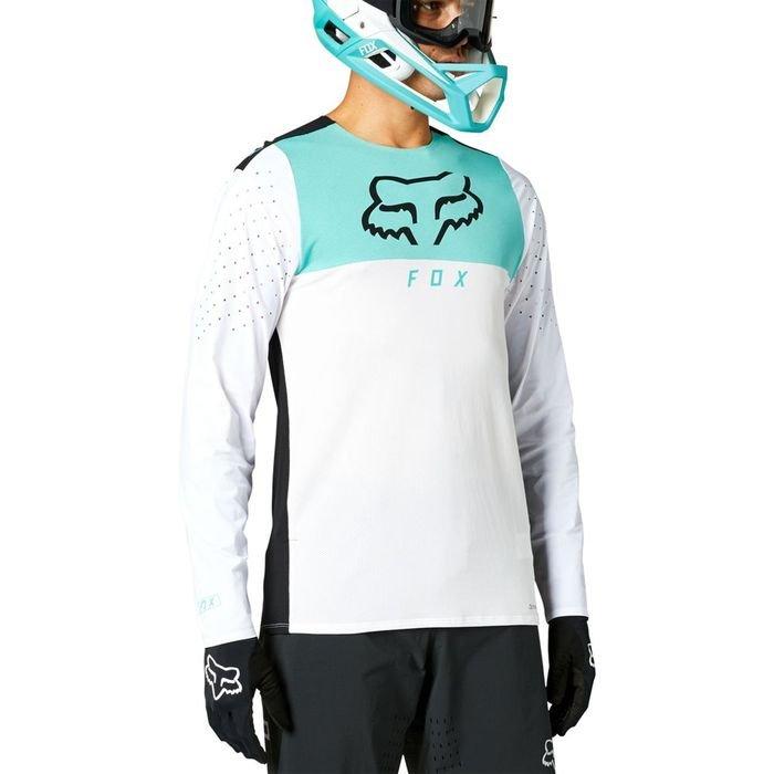 Fox t-shirt manica lunga flexair delta jersey longsleeve men