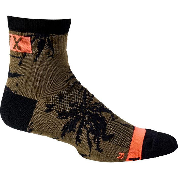 "Calze Fox 4"" Flexair merino sock"