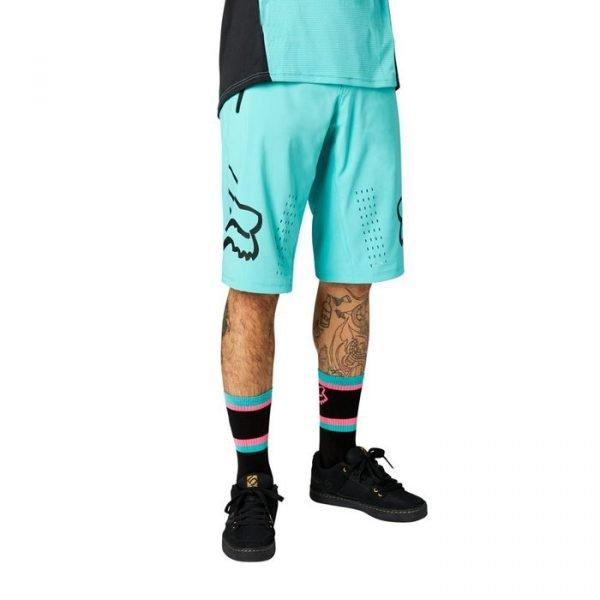 Fox pantaloncini uomo Defend Short azzurri