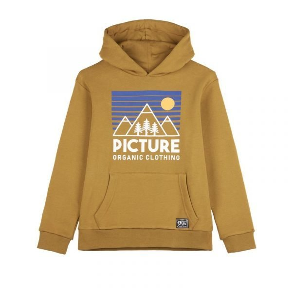 Picture Organic Fasty Kids Hoodie gialla