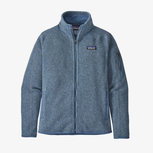 Patagonia Women's Better Sweater Jacket pile donna caldo azzurrino