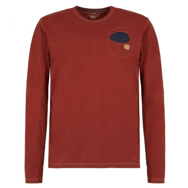 Enove E9 maglietta manica lunga uomo Diego t-shirt ruggine long sleeve