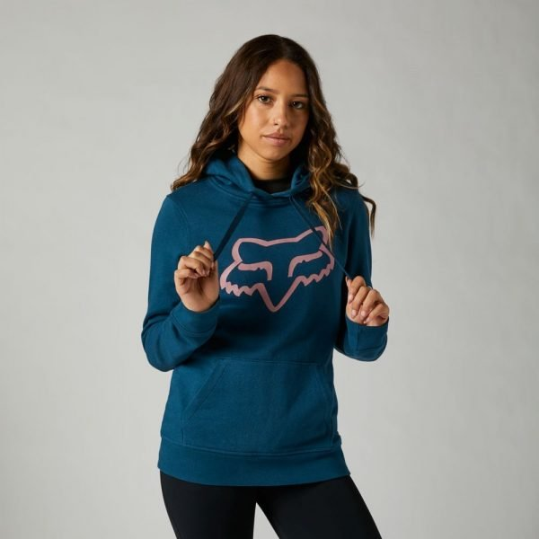 Fox felpa donna Boundary blu scuro pullover fleece